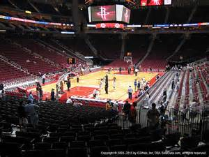 Toyota Center Section 115 Toyota Center Section 115 Seat Views Seatgeek