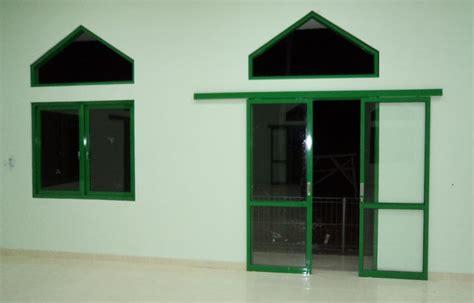 Jendela Kaca Alumunium Di Bogor pintu sliding dan jendela aluminium masjid bogor toko