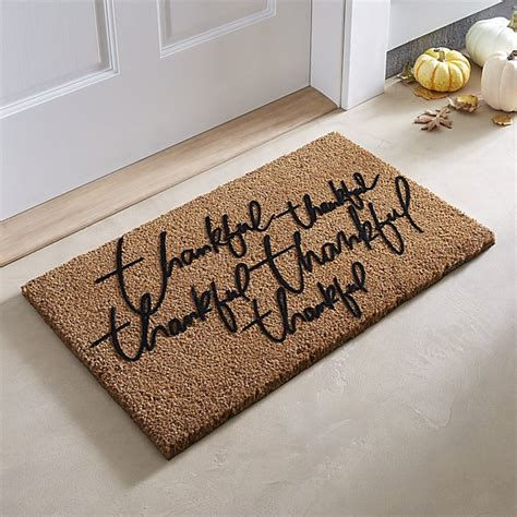 Crate And Barrel Doormats by 21 Trendy Fall Door Mats For Your Front Porch Candie