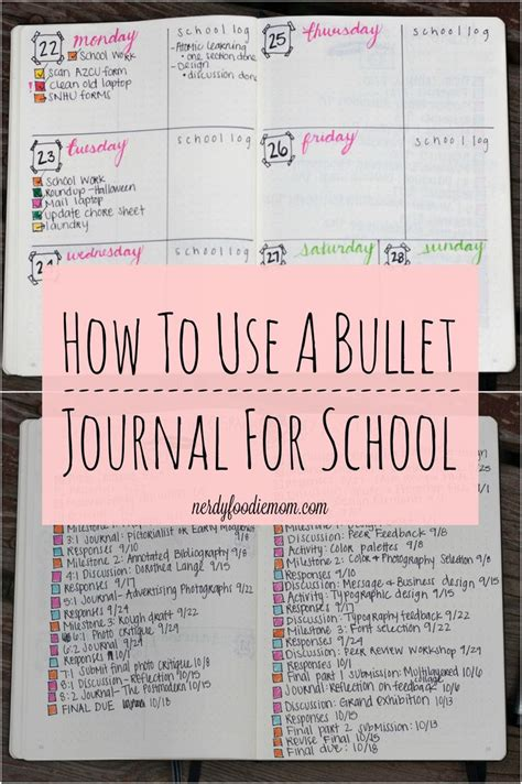 bullet journaling for students a how to use a bullet journal for school bullet journaling
