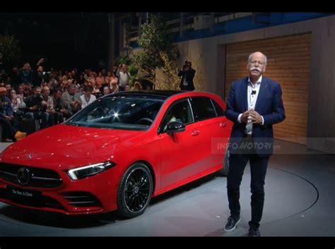 classe a nuova interni nuova mercedes classe a 2018 design motori e prezzi
