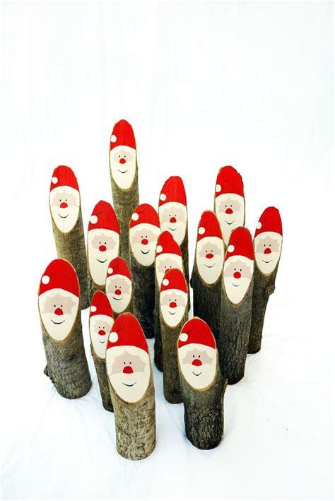Weihnachtsmann Aus Baumstamm by Die Besten 25 Baumstamm Deko Ideen Auf