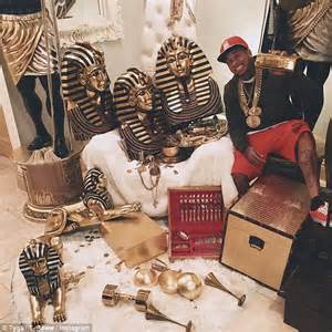 Fancy House Inside Tyga Ordered By Judge To Pay 70k To Landlord In Owed