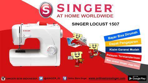 Mesin Jahit Singer Tipe 1507 mesin jahit portable singer 174 1507 aksesoris