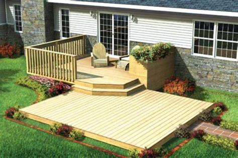 home deck plans 32 wonderful deck designs to make your home extremely
