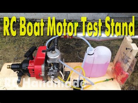 rc boats engines quickdraw 35cc its working 35cc gas engine rc boat doovi