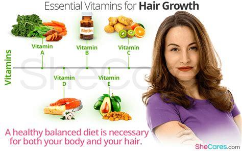 8 Essential Vitamins For by Essential Vitamins For Hair Growth Shecares