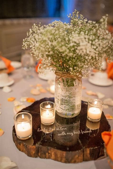 rustic jar centerpieces for weddings rustic fall wedding centerpieces co wedding
