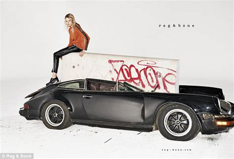 vintage porsche ad rag and bone destroy a vintage porsche in ad caign with