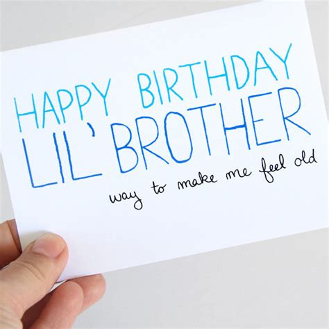 printable birthday cards for little brother little brother birthday card birthday card for brother