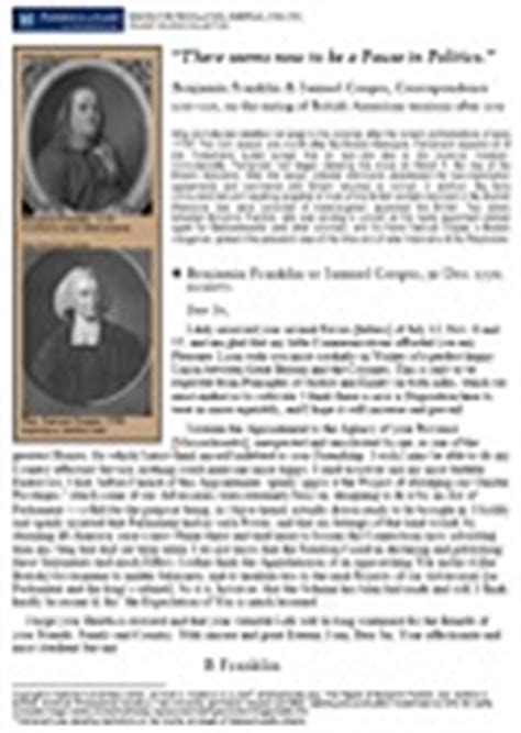 Pdf Letters Pioneer Franklin boston golden hill battle shooting of
