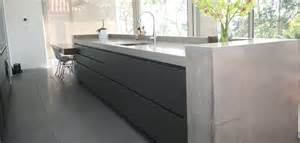 Kitchen Island Bench Designs Concrete By Design 187 Vaucluse