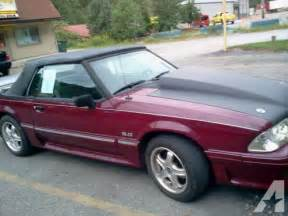 1989 ford mustang gt convertible just reduced for sale in