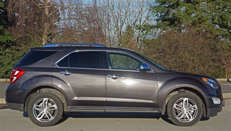 Chevrolet Equinox Ltz 2016 Chevrolet Equinox Ltz Awd Road Test Review The Car