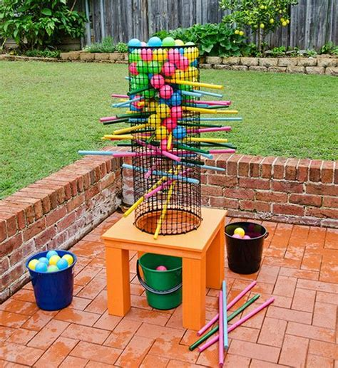 homemade backyard games how to make a backyard game better homes and gardens