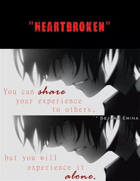 Anime Quotes Sad by 25 Best Sad Anime Quotes On Sad Anime Anime