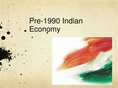 Pre Mba Courses In India by Pre 1990 Indian Economy