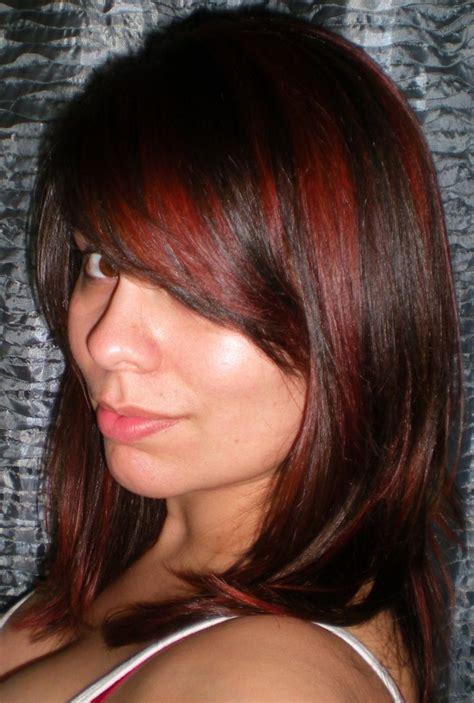 dark brown hair combinations auburn hair color on dark skin satisfying hair colour