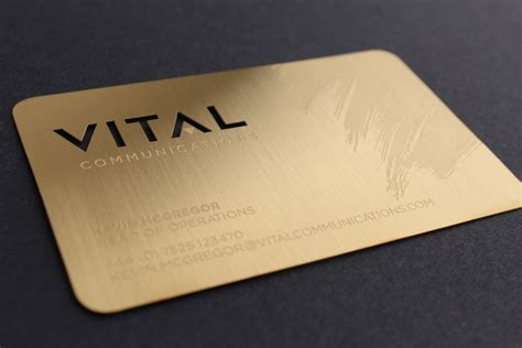 Metal Card Template by Metal Business Cards Gold Choice Image Card Design And