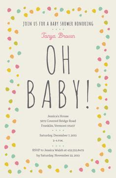Vistaprint Baby Shower by 1000 Images About Confetti Baby Shower On
