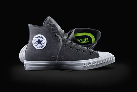 Sepatu Converse Chuck 2 Black High Premium converse unveils the new chuck all ii sidewalk hustle