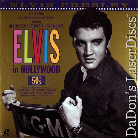 elvis presley biography movie list elvis in hollywood the fifties laserdisc rare laserdiscs