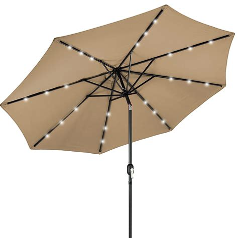 Solar Patio Umbrellas Best Solar Patio Umbrellas And Umbrella Lights Ledwatcher