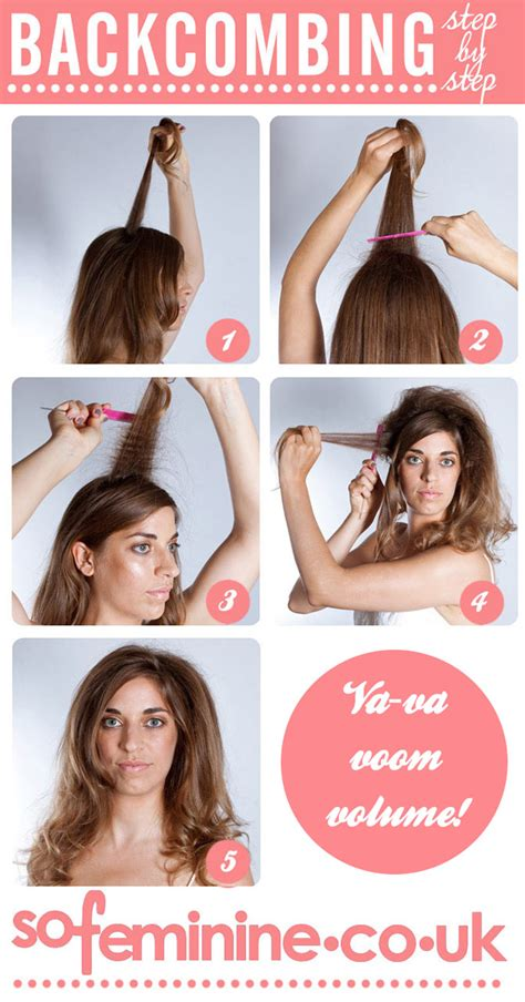 how to brush your hair 9 steps with pictures wikihow how to backcomb hair sofeminine