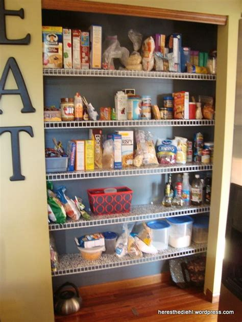 Pantry Shelf Liner Ideas by Pantry Makeover Diy Shelf Liners For Wire Shelves