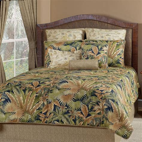 caribbean comforter sets caribbean nights tropical bedding set cabin place