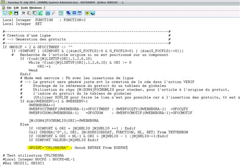 sle of html code how to use entry points in erp x3 rkl