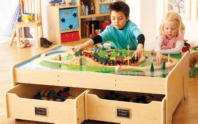 Play Table With Storage by Storage Junior Rooms