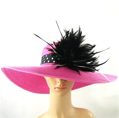 wedding hat pink wedding hat dress hat wide brim hat