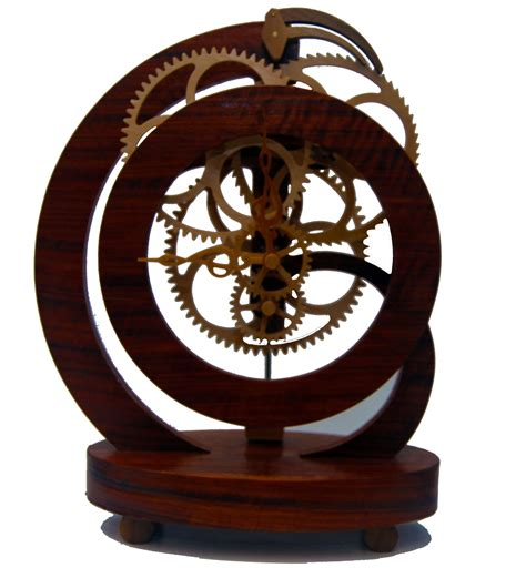 wooden geared clock wooden gear clock wood clocks