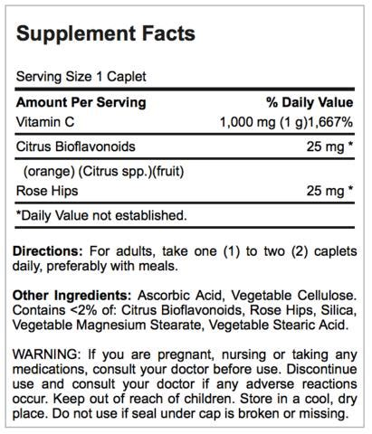 Puritan Vitamin C Bioflavonoid With Hips 250tab Time Released puritan s pride c time 1000 with bioflavonoids and