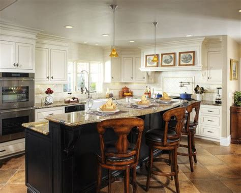 Two Level Kitchen Island Designs 8 Best Images About Two Tone Favorites On Island Two Tone Kitchen Cabinets
