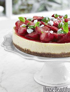 tyler florence cheesecake recipe tyler florence s strawberry and basil goat cheese cake