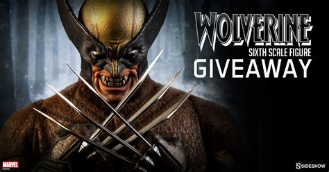 figure giveaway wolverine figure giveaway sideshow collectibles