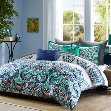 paisley print comforter sets the dramatic paisley print on this ultra chic cotton