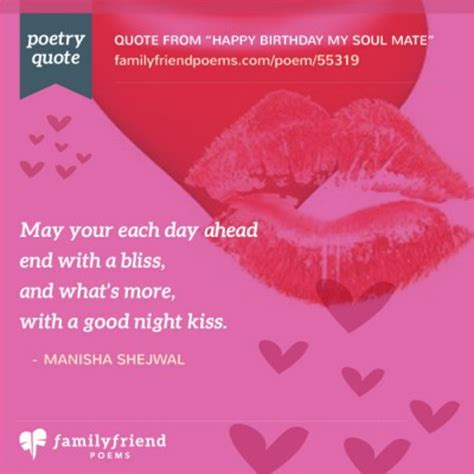 Birthday Quotes For Soulmate Happy Birthday My Soul Mate Birthday Poem