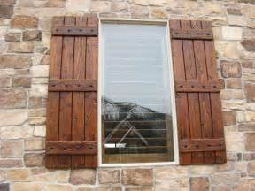 Exterior Wood Shutters 25 Best Ideas About Wood Shutters On Rustic