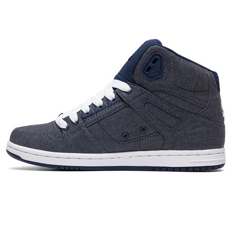 dc shoes s rebound high tx se high top shoes