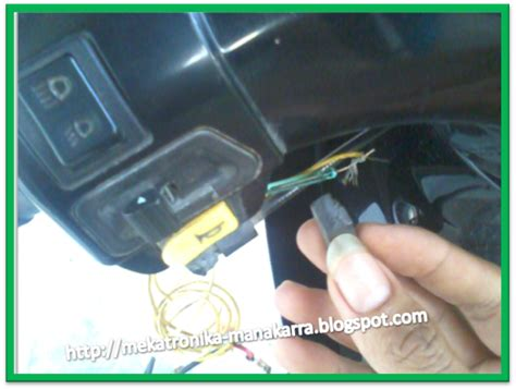 Kunci Magnet Motor Honda mekatronika manakarra membuat kunci magnet anti maling