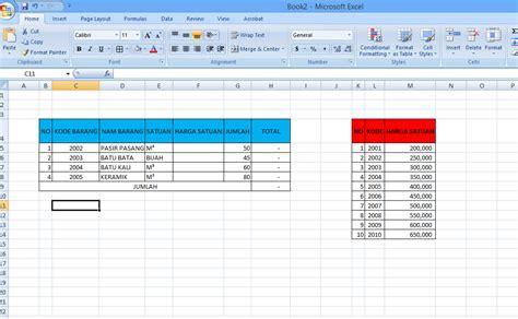 Rumus Microsoft Excel anakoffice cara menggunakan rumus vlookup di excel