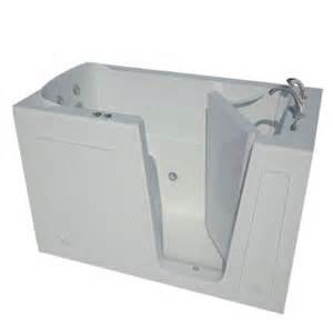 home depot bath tubs universal tubs 5 ft right drain walk in whirlpool bath