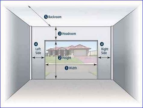 garage measurements best 25 standard garage door sizes ideas on pinterest