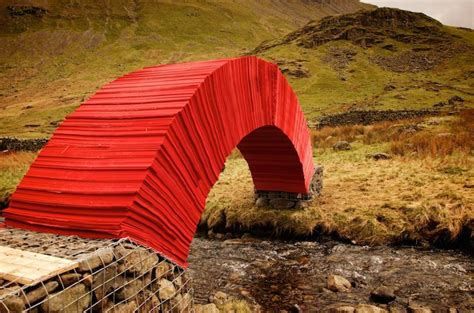 How To Make A Paper Bridge Without Glue - artist steve messam built a 16 foot paper bridge without