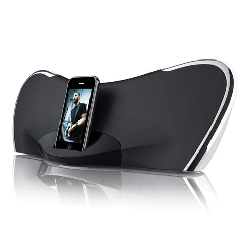 Isoundspa Speaker System For Ipods Is Also A Soothing Sound Station by Speaker System For Ipod And Iphone
