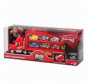 Disney Cars 3 Mini Racer Mack Truck Transport  Hem