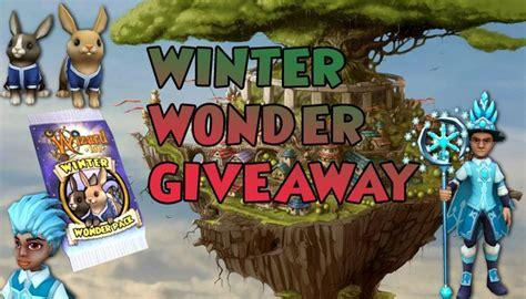 Wizard101 Giveaway - winter wonder giveaway wizard101 mmorpg com